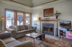 Living room of Durango Colorado vacation rental at Ferringway Condominiums