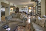 Ferringway vacation rental condominium in Durango Colorado living room