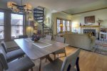 Ferringway vacation rental condominium in Durango Colorado dining room