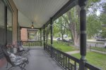 Newspaper article about Historic designation of Bushnell House vacation rental home in Durango Colorado