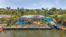 BEAUTIFUL 3/3 Waterfront home on canal with INCREDIBLE GULF ACCESS!