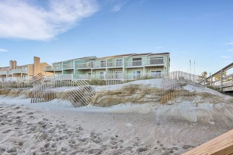 Ocean Front vacation rental in Kure Beach NC with 3 swimming pools