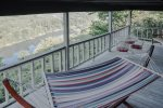 Cedar Ridge - View of the White River from the deck