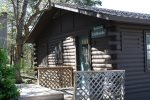 Cliffside - Front of cabin
