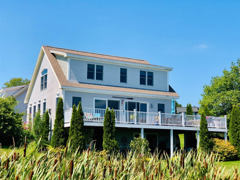 Kayak From This Maine Oceanfront Rental To Explore The Waters Of