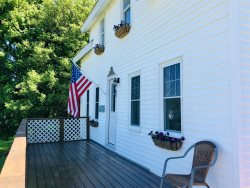 Recently renovated 3 bedroom, 2 bathroom home with elevated views into Lowell's Cove
