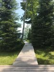 Walk Way to Lake Superior