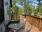 Deck at White Pine with small Gas Greill