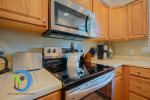 Kitchen Microwave and Stove