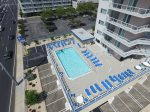 The Meridian has a fabulous Roof Top Pool for your enjoyment.
