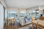 Enjoy amazing Bay Views with floor to ceiling windows.