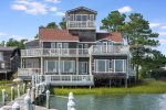 With 2,000 sq ft of decking, you won`t want to leave Teal Point.