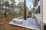 Lovely backyard with creek views & tons of wildlife - a great place to relax after a day at Assateague.