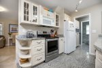 You`ll love the Stainless Appliances and lovely Custom Granite Floor.