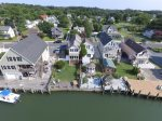 Family Tides has a beautiful backyard and Waterfront Dock.