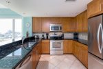 Gourmet Kitchen with state-of-the-art Stainless Appliances.