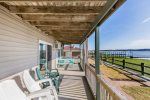 Enjoy the Chincoteague Pony Swim right from your Balcony.