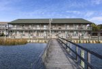 Sunrise Serenade is a lovely Bayfront Condo on Chincoteague Island.