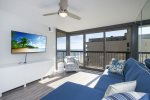 Relax & enjoy the Flat Screen Cable TV, Free WiFi, AND fabulous Oceanfront Views.