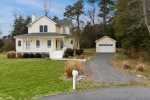 Classic Coastal Colonial on a huge lot in Eagle Sound Estates, just minutes from Chincoteague.
