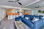 Recently remodeled, this Home is light, bright, and beachy.