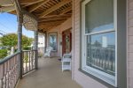 The Wrap-Around Front Porch is a great place to relax and take in those Bay Views.
