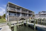 This great 3 Bedroom Condo sits right on the Assateague Channel.