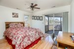 Waterfront Bedroom 2 has a Queen & Access to the Waterfront Screened Porch.