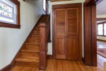 Follow the stunning Hardwood Staircase to find 2 more Bedrooms & a 2nd Full Bath.