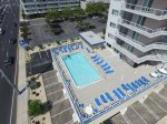 Meridian Guests have access to the Heated Rooftop Pool, as well.