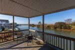 Porthole has a huge Waterfront Boardwalk and awesome Deck to take in amazing Views.