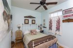 The Charming Bedroom has a Full Bed & tons of Eastern Shore Style.