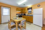 Each Cottage has a spacious Eat-in Kitchen.