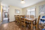 Huge Dining Area for enjoying Family Meals together.