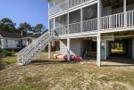 Island Haven has both an Open Deck & Screened Porch. Kayak is for owner-use only