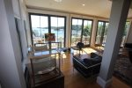 Living Room with those Harbor Views in the Background
