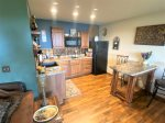 Beautifully decorated bedroom with a lakeview