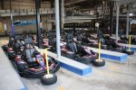 Miner Mike`s has the largest indoor go cart track