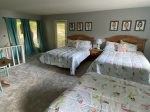 Mermaid Suite 2 queen beds 1 full