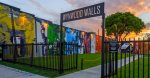 The Wynwood Walls in Miami`s Art District is a unique outdoor destination featuring huge, colorful street murals by artists from around the globe is two minutes drive from our home.