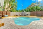 Private outdoor pool with optional heating availalbe.