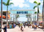 Bayside Marketplace is less than six miles away.