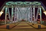 Walk about a mile to the heart of downtown Nashville via the pedestrian bridge