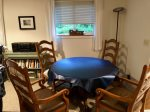 Dining room table will open to seat 6