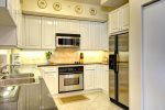 Updated Stainless Steel Kitchen