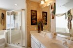 Master Bathroom has Walk-in Shower