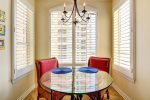 Extra Seating in Breakfast Nook