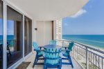Feel the Ocean Breeze while Relaxing on the Balcony