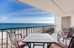Enjoy the Beach from Your Balcony All Day Long