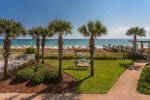 Spend a Sunny day by the Gulf Front Pool